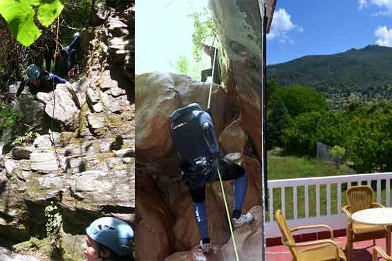 Ofertas en alojamiento+actividades de aventura