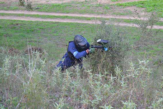 Paintball a campo abierto