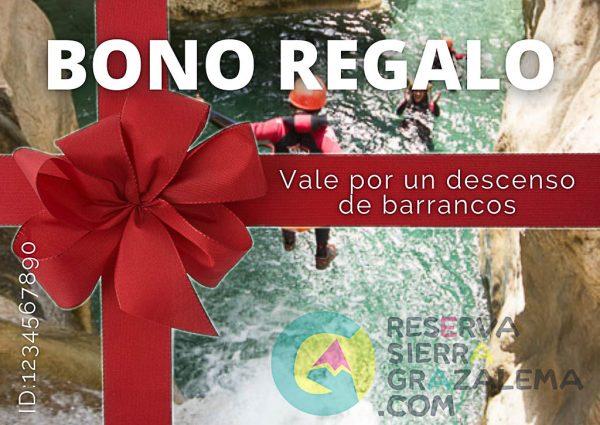 Bono regalo barranquismo - Reserva Sierra Grazalema