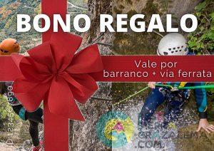 Bono regalo barranquismo + vía ferrata - Reserva Sierra Grazalema