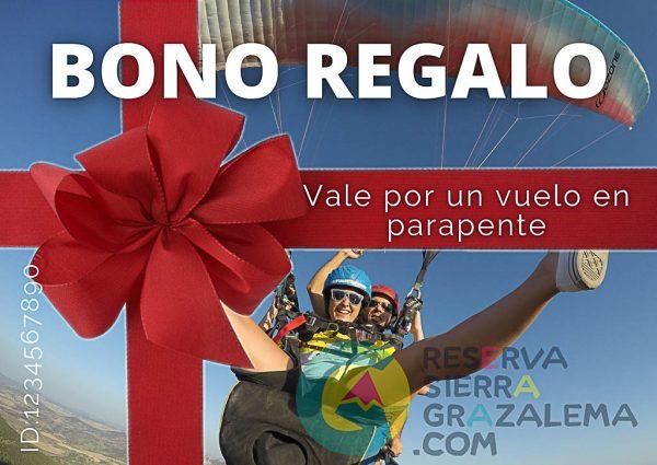 Bono regalo Parapente - Reserva Sierra Grazalema